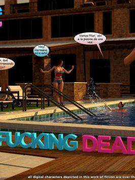 Y3DF – The fucking dead – Español