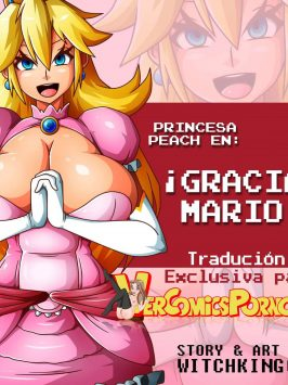 Princess Peach in Thanks Mario
