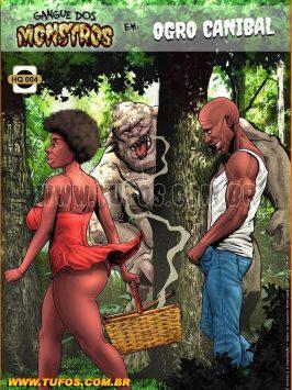 Gangue Dos Monstros 4 Ogro Canibal