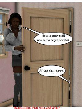 Jovencito con prostituta madura negra
